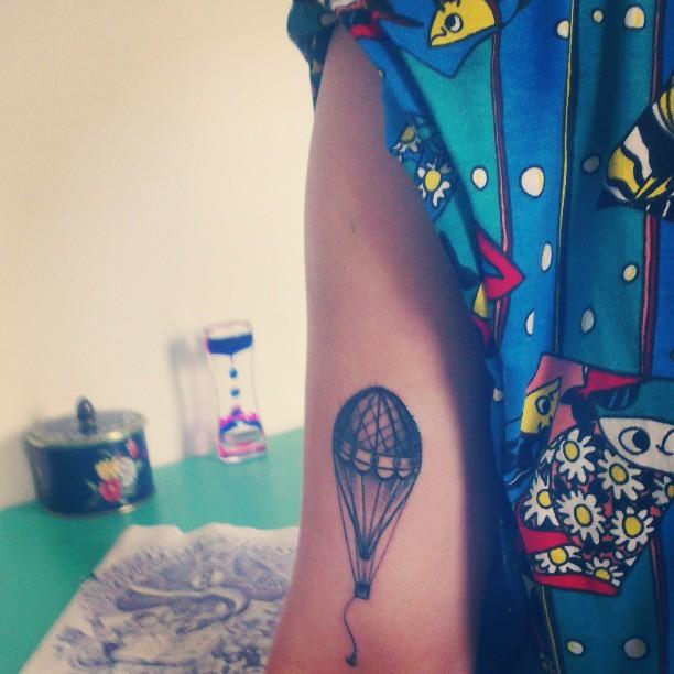 54+ Incredible Hot Balloon Tattoos