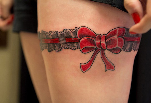 50+ Beautiful Thigh Tattoos For Girls
