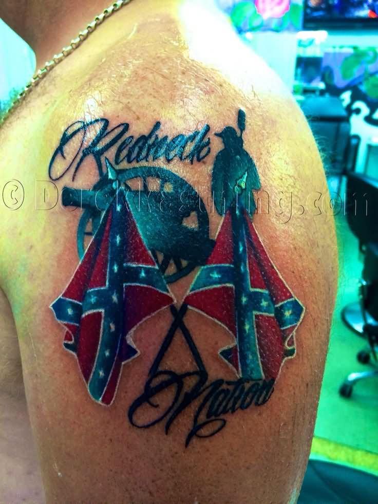45 Rebel Flag Tattoos