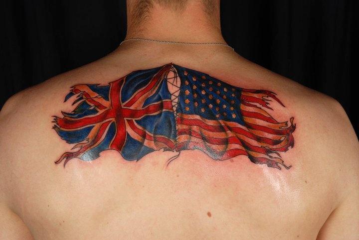 23 best uk flag tattoos. Black Bedroom Furniture Sets. Home Design Ideas