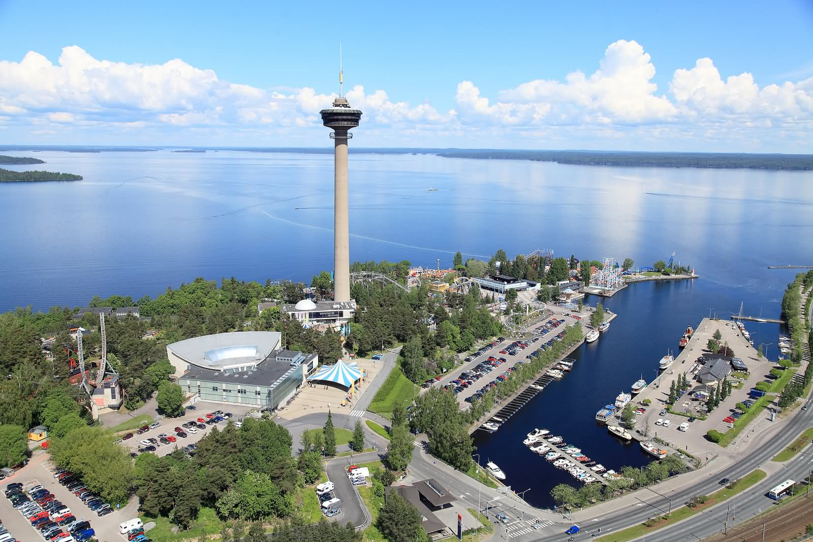 30 Most Beautiful Pictures Of The Nasinneula Tower In Tampere City, Finland