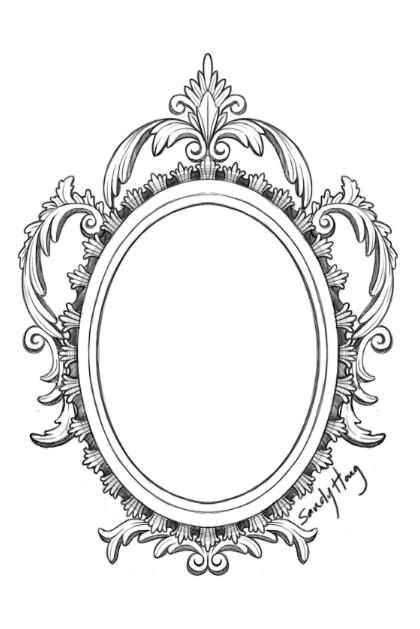 25 victorian hand mirror tattoo. Black Bedroom Furniture Sets. Home Design Ideas