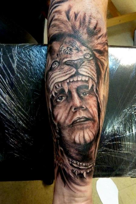 26+ Indian Chief Sleeve Tattoos
