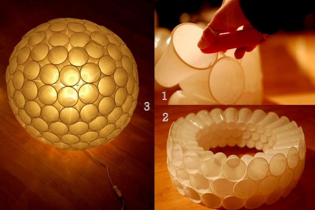 Beautiful Lanterns Using Waste Plastic Bottles