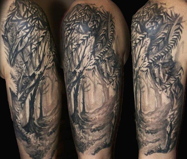 35+ Amazing Nature Tattoos