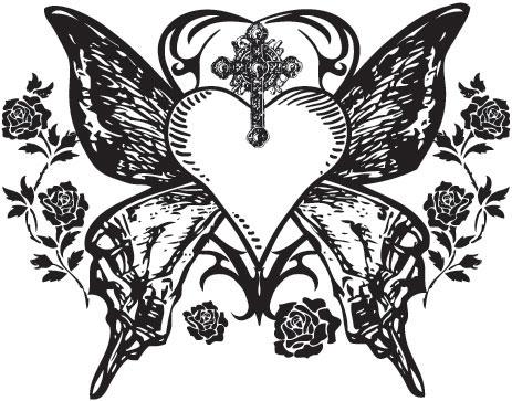 36+ Gothic Heart Tattoo Designs