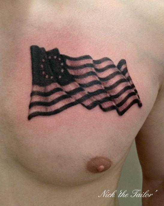 50 Best Flag Tattoos