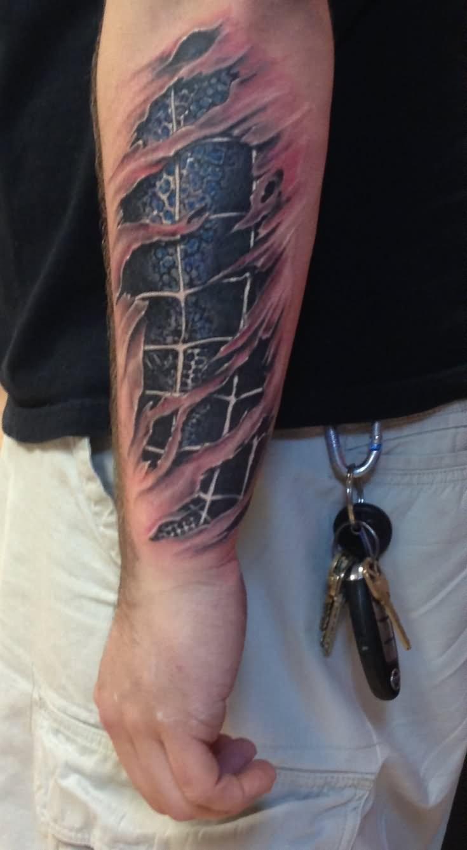 16 black spiderman tattoos for Spiderman tattoo arm