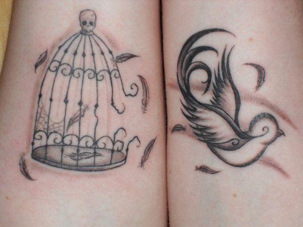 Hummingbird Tattoos Black