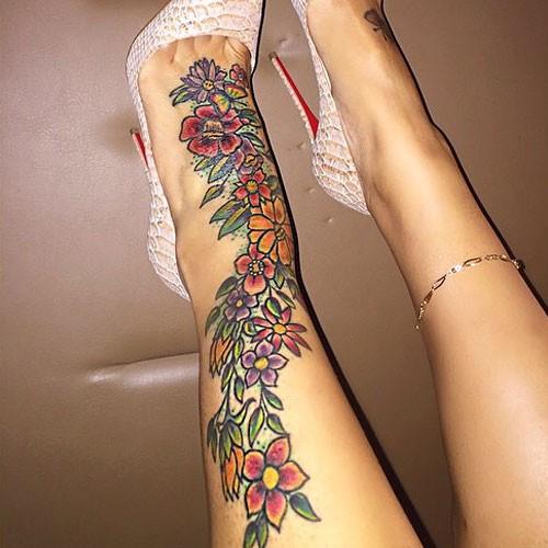 60+ Amazing Foot Tattoos