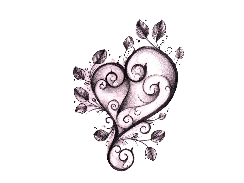 36 gothic heart tattoo designs. Black Bedroom Furniture Sets. Home Design Ideas
