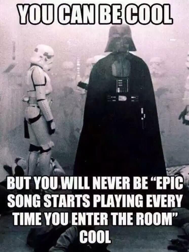 Darth Vader And Stormtrooper Funny War Meme Picture