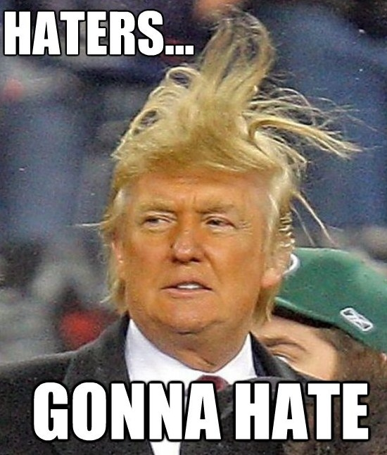 Donald Trump Donald Trump Haters Gonna Hate Picture