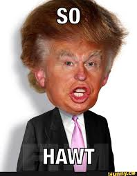 Donald Trump With Pouting Face Funny Picture