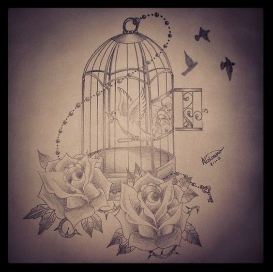 10 famous cage tattoo designs. Black Bedroom Furniture Sets. Home Design Ideas