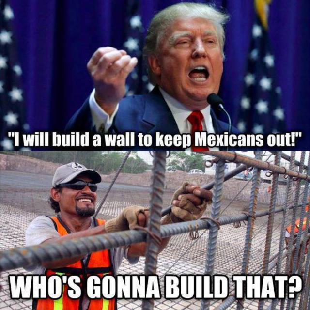 Funny Donald Trump Wall Memes : Most funny donald trump memes that will make you laugh