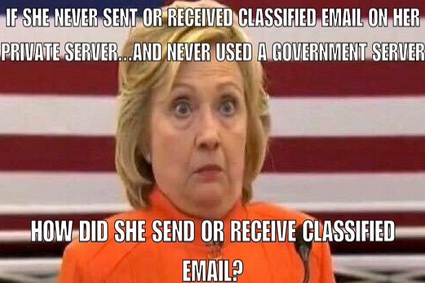 Funny Hillary Clinton Meme How Did She Send Or Receive Classified Email Picture