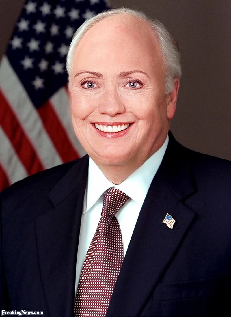 Funny Male Hillary Clinton Picture