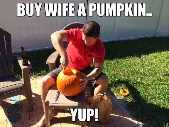 Funny Meme About Wife : Most funniest pumpkin meme images on the internet