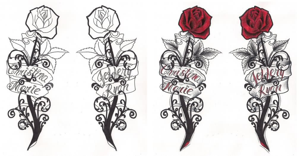 Gothic Designs 24+ gothic rose tattoos and design ideas