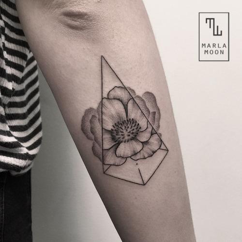 Flower Nature Tattoo: 35+ Amazing Nature Tattoos