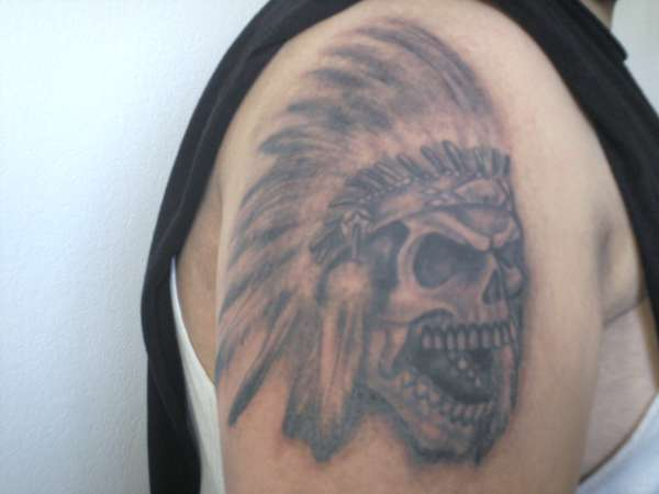 44 indian chief skull head tattoos for Indian ink tattoo