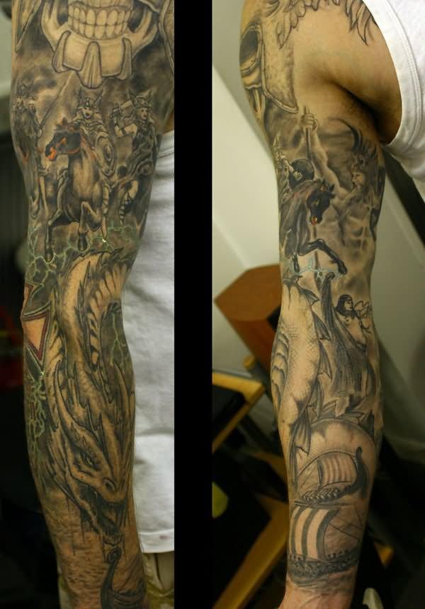 48 latest full sleeve tattoos. Black Bedroom Furniture Sets. Home Design Ideas
