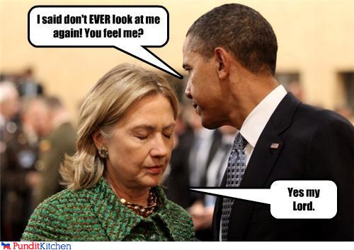 I Said Don't Ever Look At Me Again You Feel Me Funny Hillary Clinton Picture