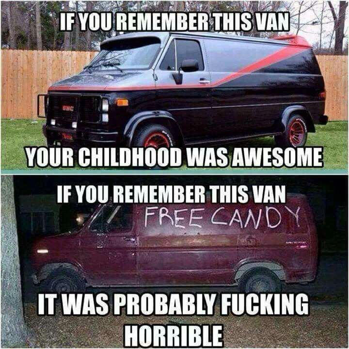 If You Remember This Van Your Childhood Was Awesome Funny Van Meme Picture 30 most funniest van memes that will make you laugh