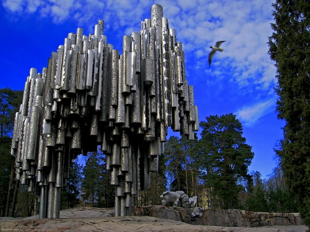 40 Adorable View Images Of The Sibelius Monument In
