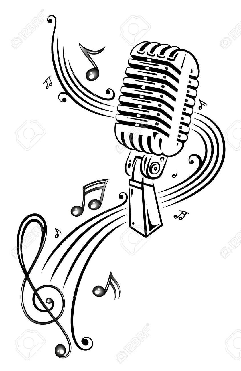 Mikrofon Malen