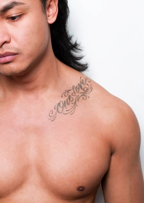 29 collar bone tattoos for men for Collar bone tattoos guys