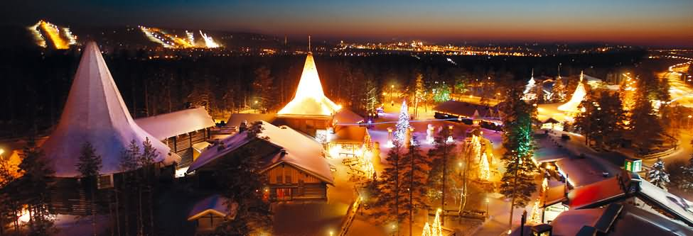 Panorama-View-Of-The-Santa-Claus-Village