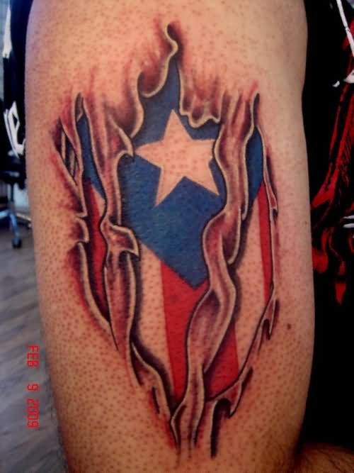 15 amazing flag half sleeve tattoos