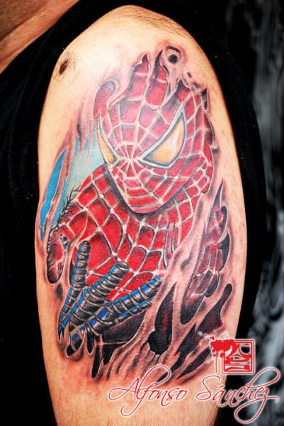 45+ Best Spiderman Tattoos