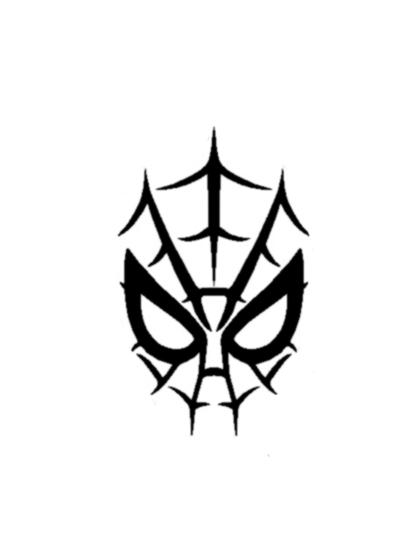 20 spiderman logo tattoo designs and pictures for Tattoo style logo design