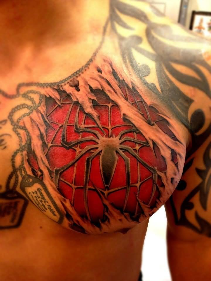 45 best spiderman tattoos. Black Bedroom Furniture Sets. Home Design Ideas