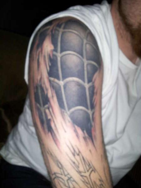 16 Black Spiderman Tattoos