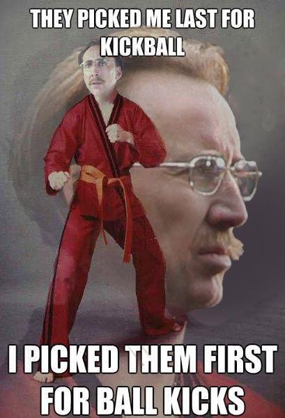 Karate Kid Girl Meme