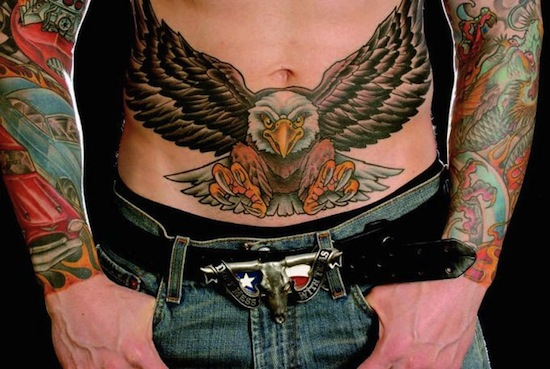 45+ Traditional Stomach Tattoos