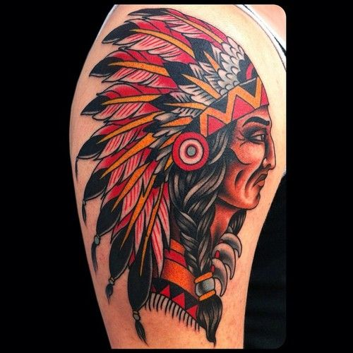 1000 ideas about indian chief tattoo on pinterest indian skull tattoos indian tattoos and. Black Bedroom Furniture Sets. Home Design Ideas