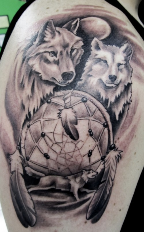 32 indian chief wolf tattoos. Black Bedroom Furniture Sets. Home Design Ideas
