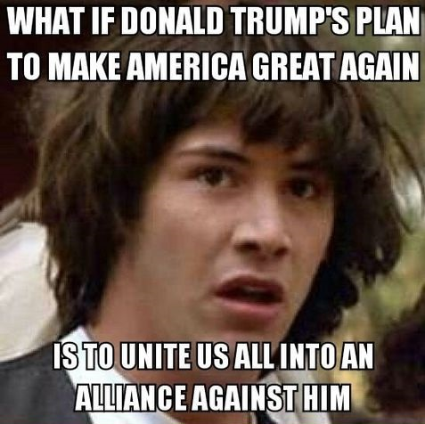 What If Donald Trump's Plan To Make America Great Again Funny Donald Trump Meme Picture
