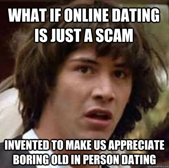 What % online dating