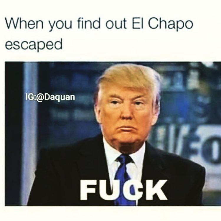 Image of: When You Find Out Ei Chapo Escaped Funny Donald Trump Meme Image Askideascom 50 Funniest Donald Trump Meme Images And Photos On The Internet