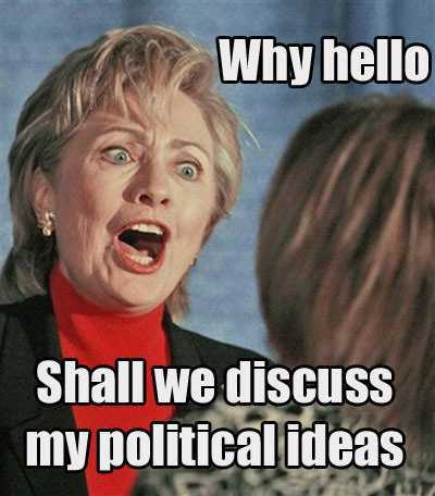 31 Funny Hillary Clinton Meme Images And Photos