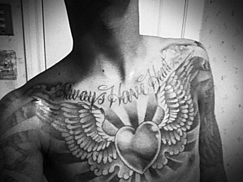 Cloud Chest Piece Tattoo Designs: 35+ Cloud Tattoos On Chest