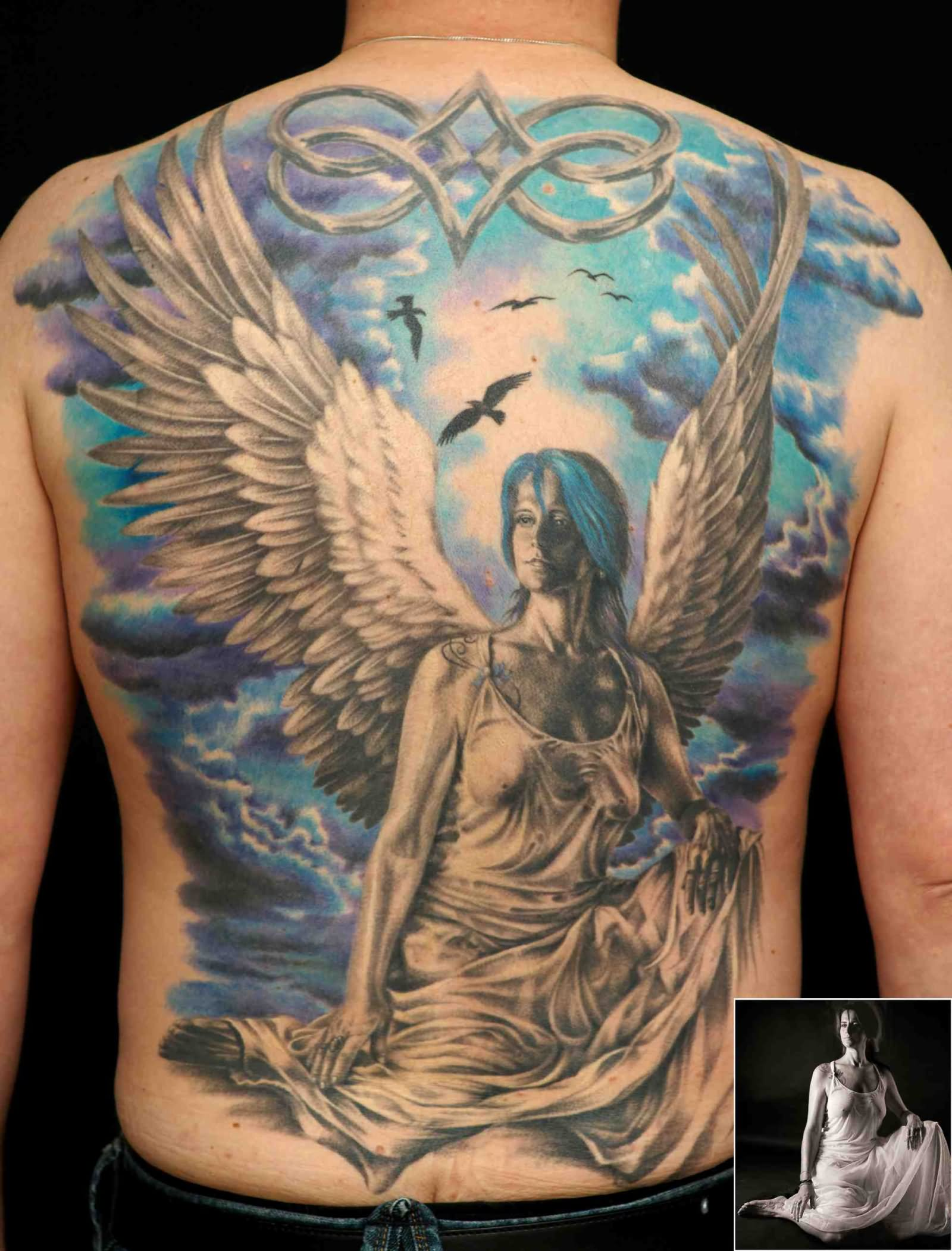 50 Best Back To Front Before After Remodelling Projects: 50+ Amazing Full Back Tattoos