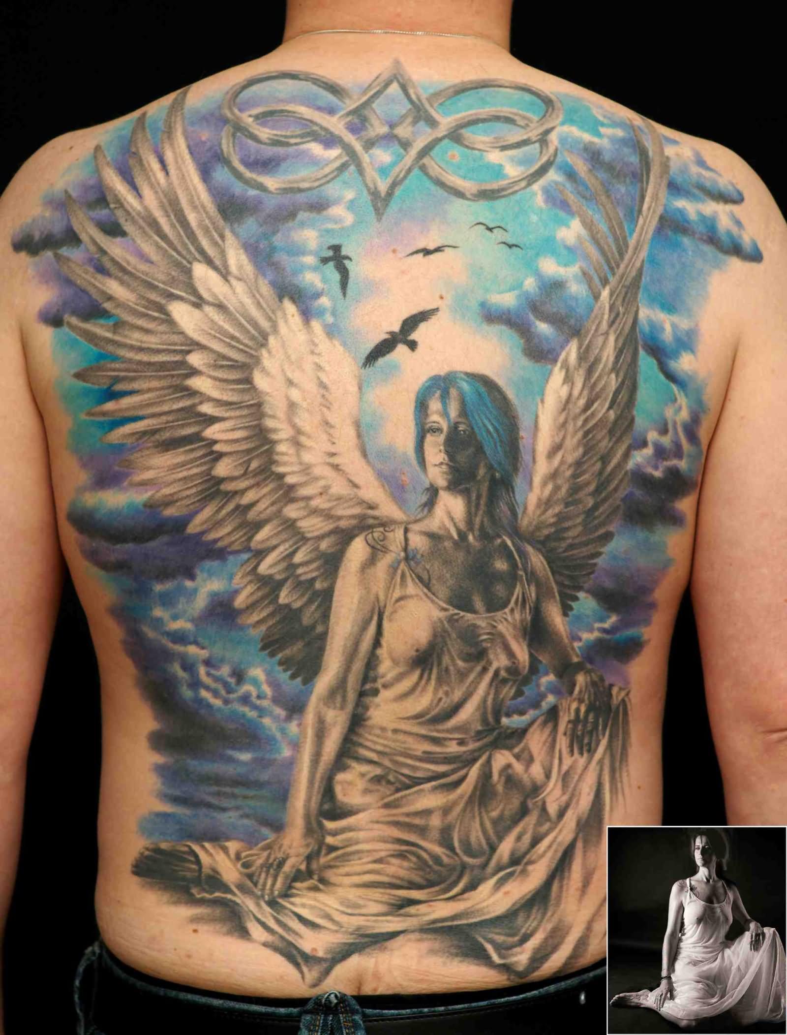50 amazing full back tattoos for Whole back tattoos