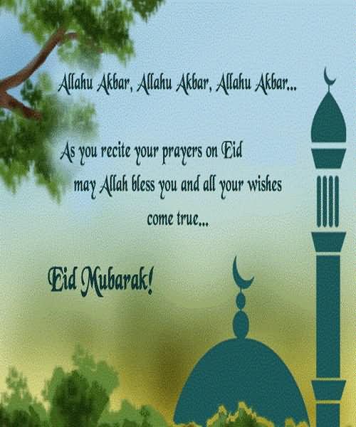 20 Wonderful Eid Mubarak Ideas: Eid Mubarak Eid-Ul-Fitr Greetings Picture